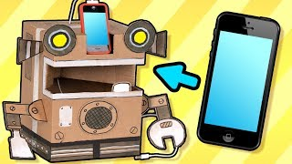 Lær å lage en robot av papp | Øisteins Pappeske - Ting du kan lage hjemme