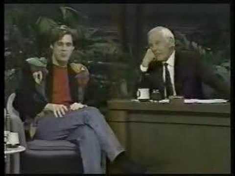 Jim Carrey dazzles Johnny Carson 1991