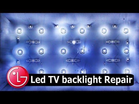 LG 32 Inch LED TV Backlight Problem Solution.#Pro Hack