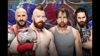 Sheamus & Cesaro vs Dean Ambrose vs Seth Rollins Promo | WWE Summerslam 2017