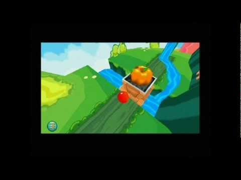 Nokia 5800 Xpress Music - Bounce Touch Game Level 6 - Catching all the 25 balls -