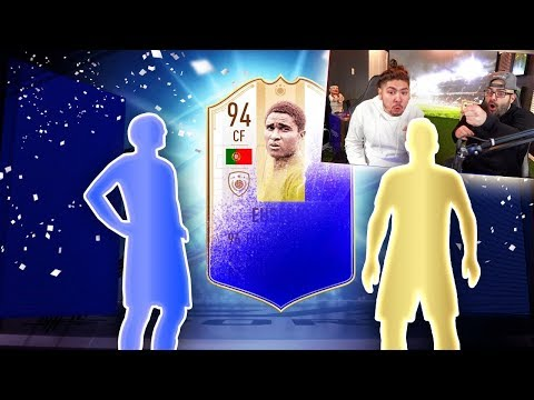 OMG YES I PACKED EUSEBIO! PACK OPENING WITH CASTRO! FIFA 19 CHALLENGE