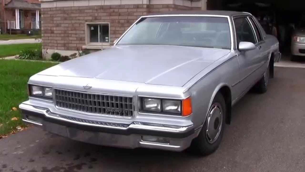 1986 Chevy Caprice Coupe - Lowrider Project Introduction