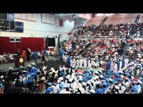 John Bowne High School Graduation Ceremony - Class of 2015 at St. John's University