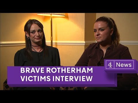 Rotherham grooming victims speak out for the first time