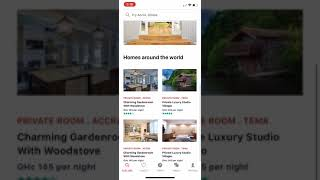 Gambar cover Airbnb UI Clone with React Native