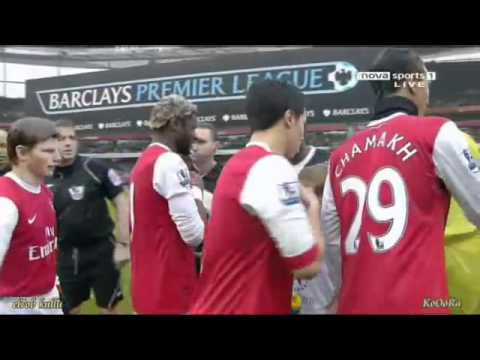 Samir Nasri ignores Gallas