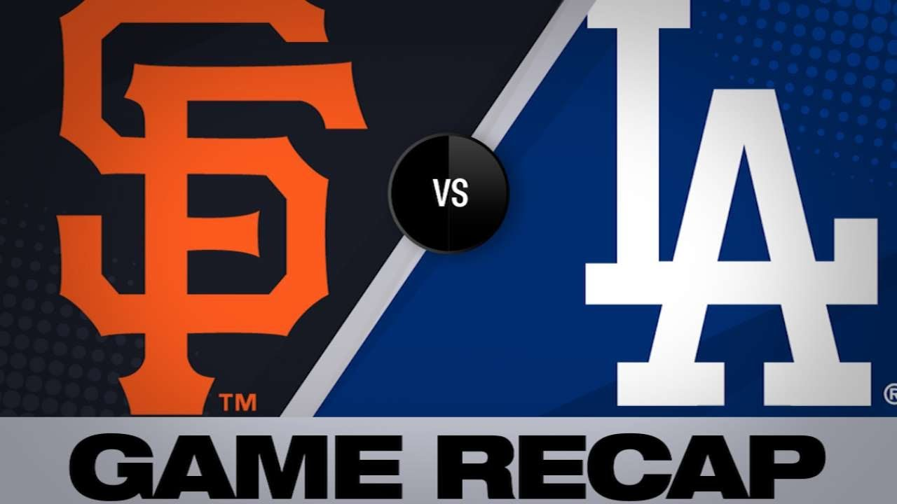 Crawford, Beede lead Giants to a 3-2 victory | Giants-Dodgers Game Highlights 6/17/19