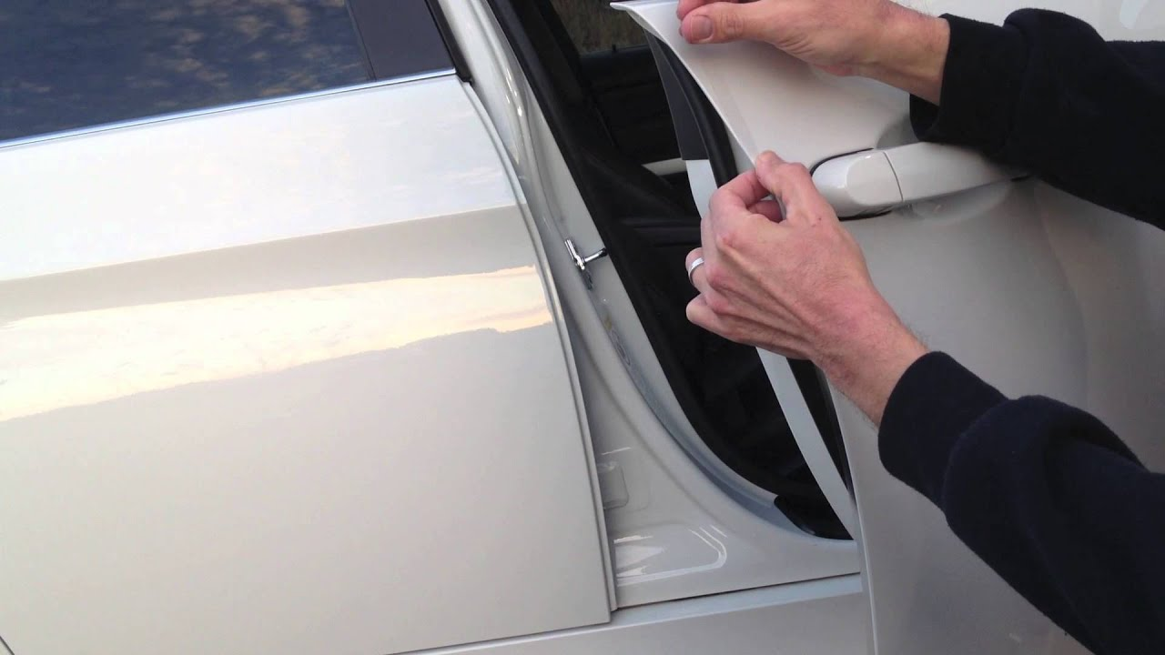 How To Install Lamin X Car Door Edge Guards Youtube