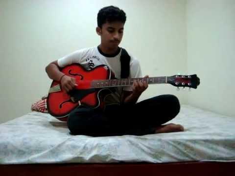 Kabhi na kabhi to miloge ...guitar leads by Gurudatt - YouTube