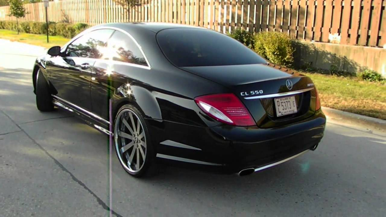 copy of 2008 mercedes benz cl550 amg youtube. Black Bedroom Furniture Sets. Home Design Ideas