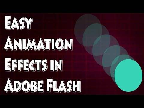 Adobe Flash CS4 Tutorial- Quick and Easy Animations