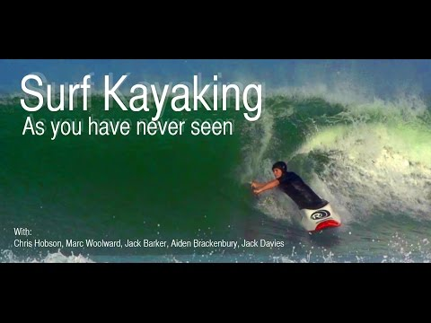 Surf Kayaking AS you have never seen