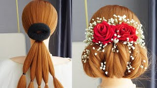 Best Hairstyle For Wedding Bridal Hairstyle Tutorial For Beginners Easy Hairstyles Step By Step
