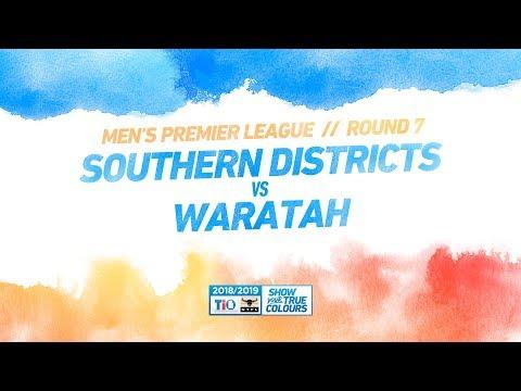 Southern Districts vs Waratah: Round 7 - Men's Premier League: 2018/19 TIO NTFL
