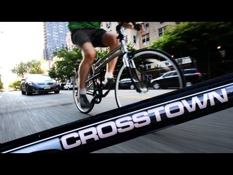 Montague Crosstown folding bike Review Video