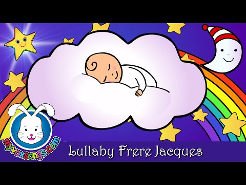 LULLABY Frère Jacques | Bedtime Lullabies
