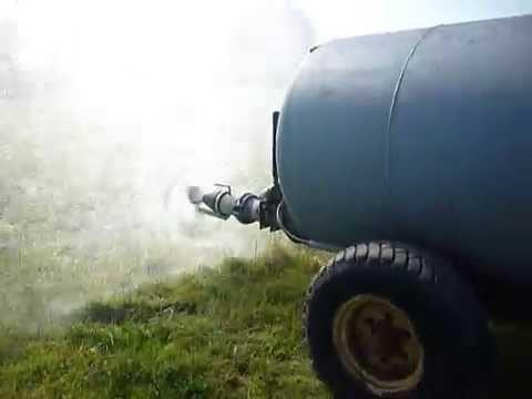 Marshall 600 Gallon Vacuum Tanker /Slurry /Water