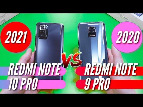 REDMI NOTE 10 PRO vs REDMI NOTE 9 PRO. Полное сравнение