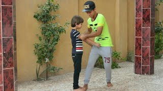 لو خيروك #3 فريت اخوي الصغير #رقص هندي تحشيش عراقي | كرار الساعدي