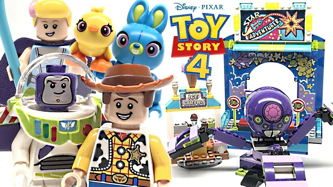 Lego Toy Story 4 Buzz Woody S Carnival Mania Review 2019 Set