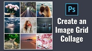 How to Create Square Image Grid Collage in Photoshop screenshot 1