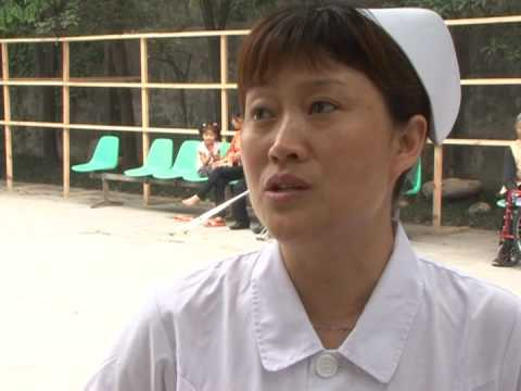 From China quake zone, an amputee's messsage of hope