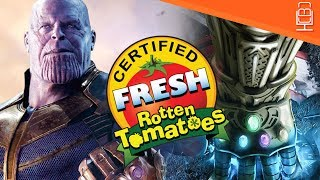 Avengers Infinity War is Certified Fresh