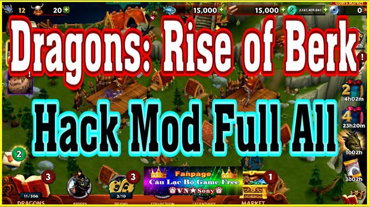 《MobileGame Lậu》Dragons: Rise of Berk – Free Full All – Hack Mod Full All#268