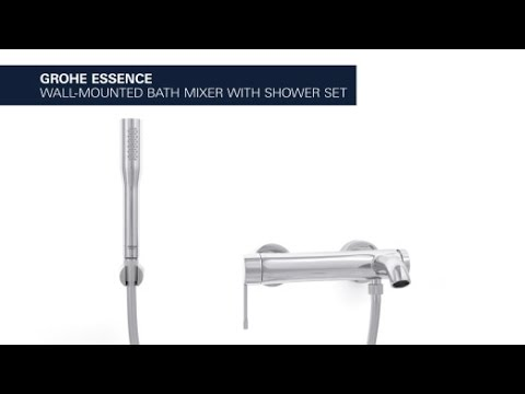 Grohe Essence Bath Faucet With Shower Set Attractive Design And