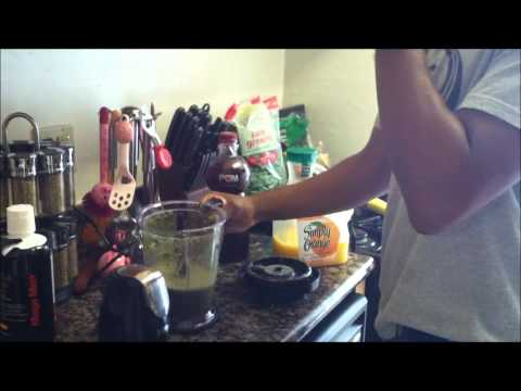Juicing with the Ninja blender