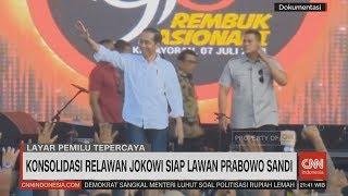 Konsolidasi Relawan Jokowi Siap Lawan Prabowo-Sandi
