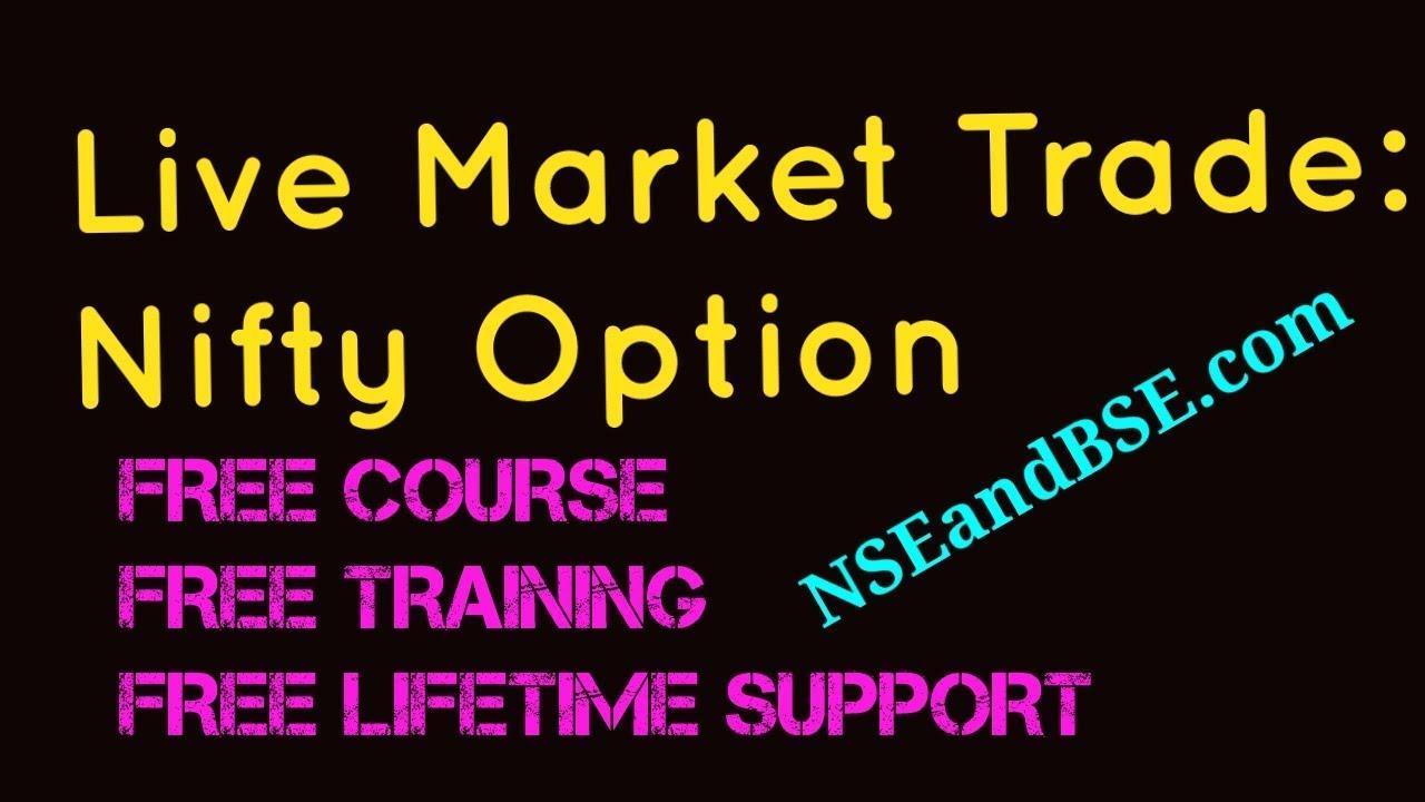 Live options trade