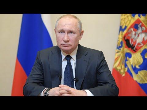 Обращение Путина к россиянам. Спецэфир с комментариями | 25.03.20