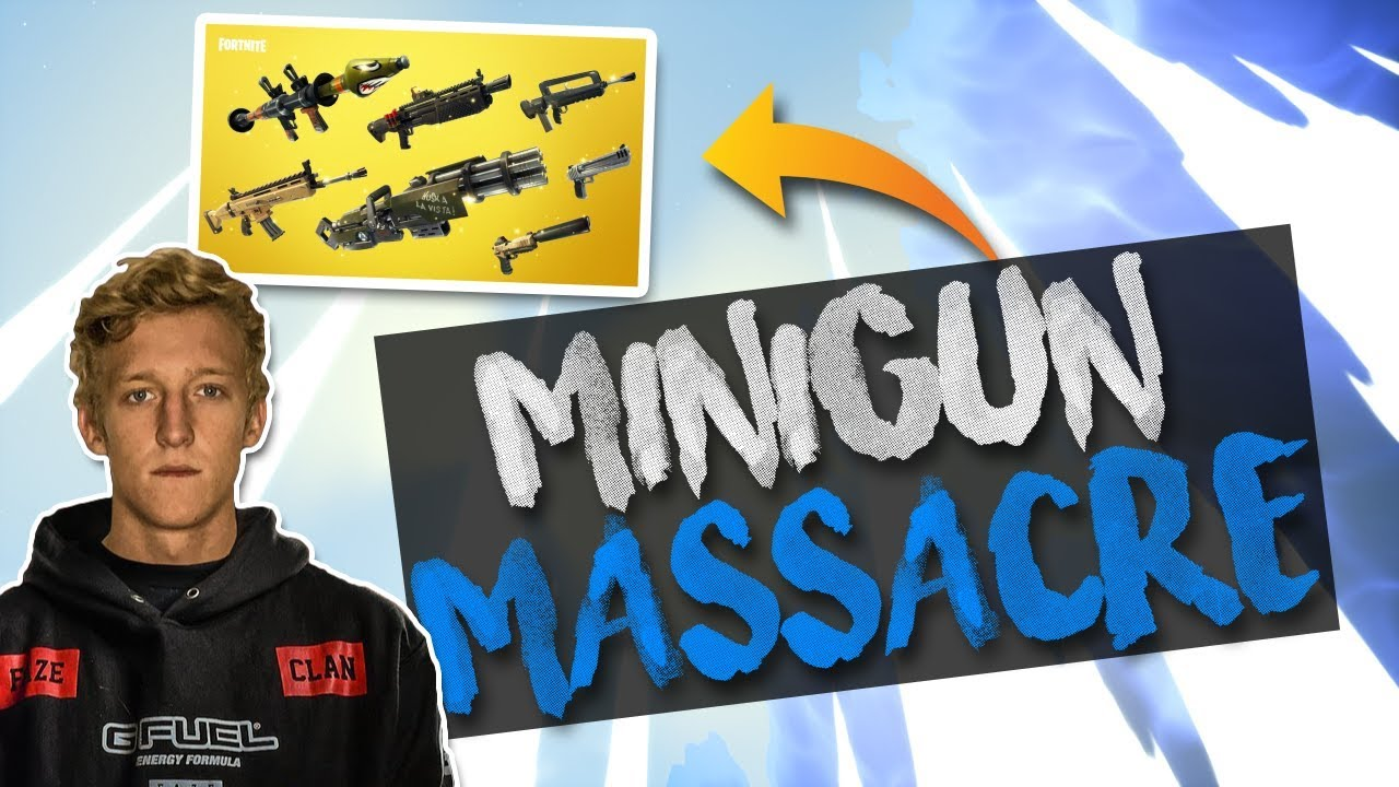 Minigun Is Op 21 Kill Solo Gameplay Solid Gold V2 Fortnite