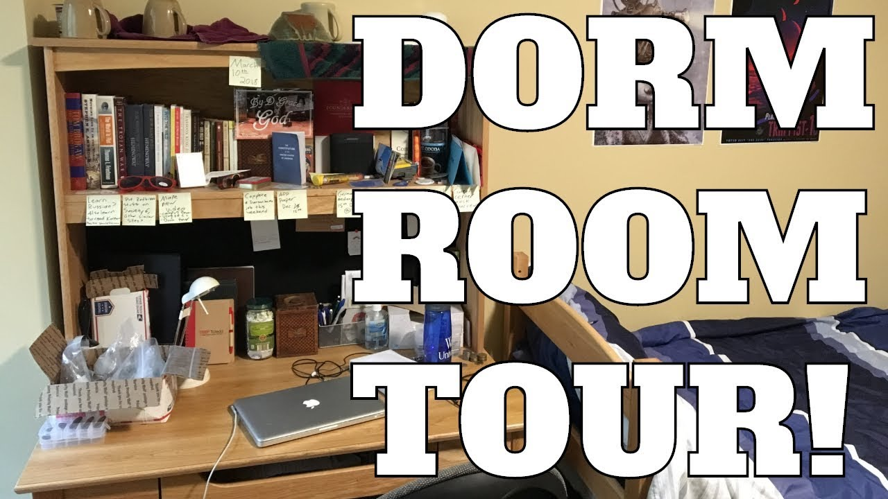 COLLEGE DORM ROOM TOUR! Washington University in St. Louis