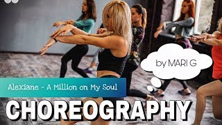 Choreography by Mari G - Alexiane - a Million on my Soul (Valerian) - Workshop in Myway DC