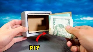 DIY Electronic Safe -  How to Make a Mini Safe