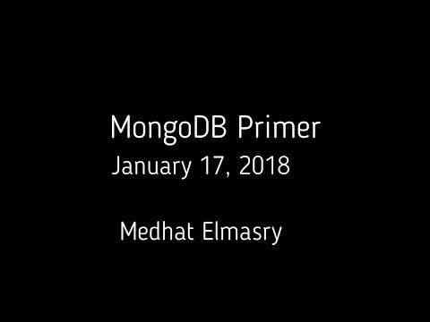 MongoDB Primer