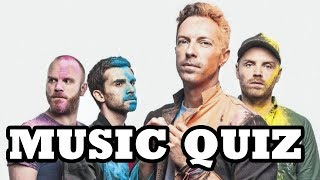 Music Quiz - Coldplay