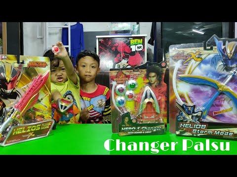 Unboxing Changer BIMA X Palsu VS Changer BIMA X Asli