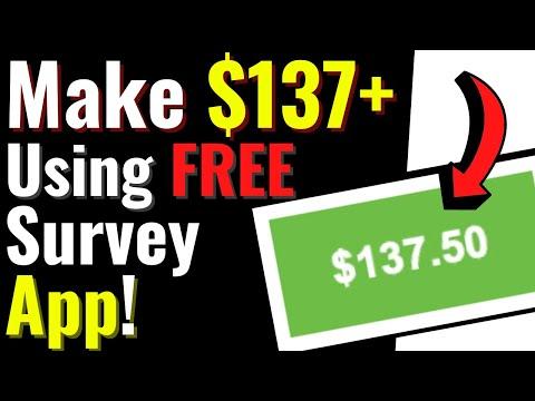 Make $137.50 Per Day Taking Surveys (Free PayPal Money!)| Get Paid to Take Surveys