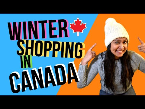 WINTER Shopping In CANADA West Edmonton Mall [JACKET, BOOTS & GLOVES Brands And Prices] Mall VLOG