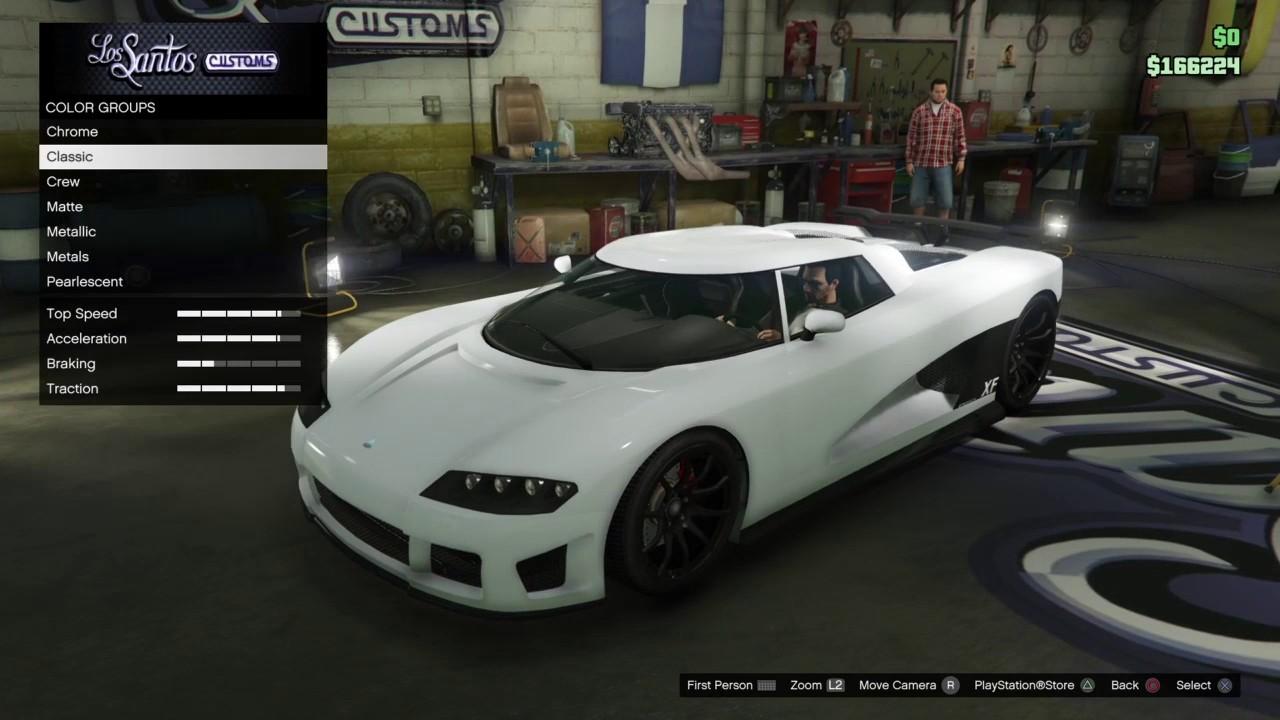 Gta 5 Need For Speed Koenigsegg Agera R Build Youtube