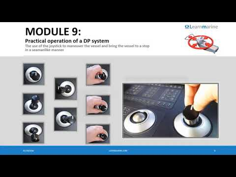 DP Awareness course  example of practical module - Joystick Control