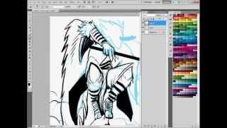 Tengu Speed Painting