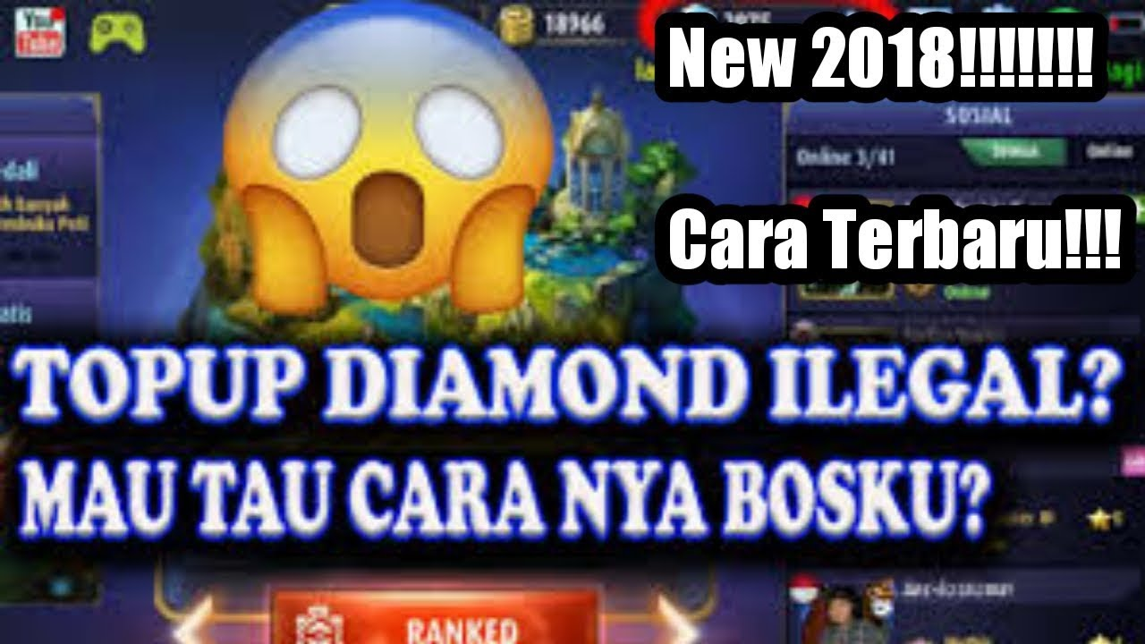 Tutorial Topup Diamond Ilegal Mobile Legends Terbaru Youtube