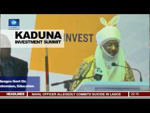 Kaduna Investment Summit: Emir Of Kano Laments Poverty Level In The North