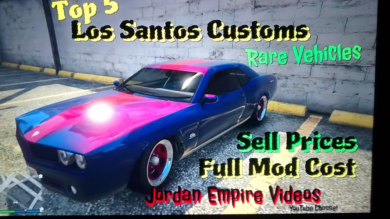 Gta 5 car sales prices   5 Latest Weekly Update [All details
