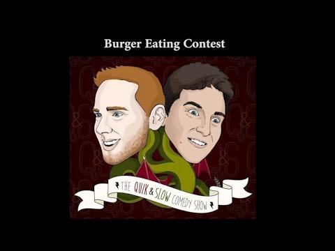 Junior Bacon Cheese Burger Eating Contest